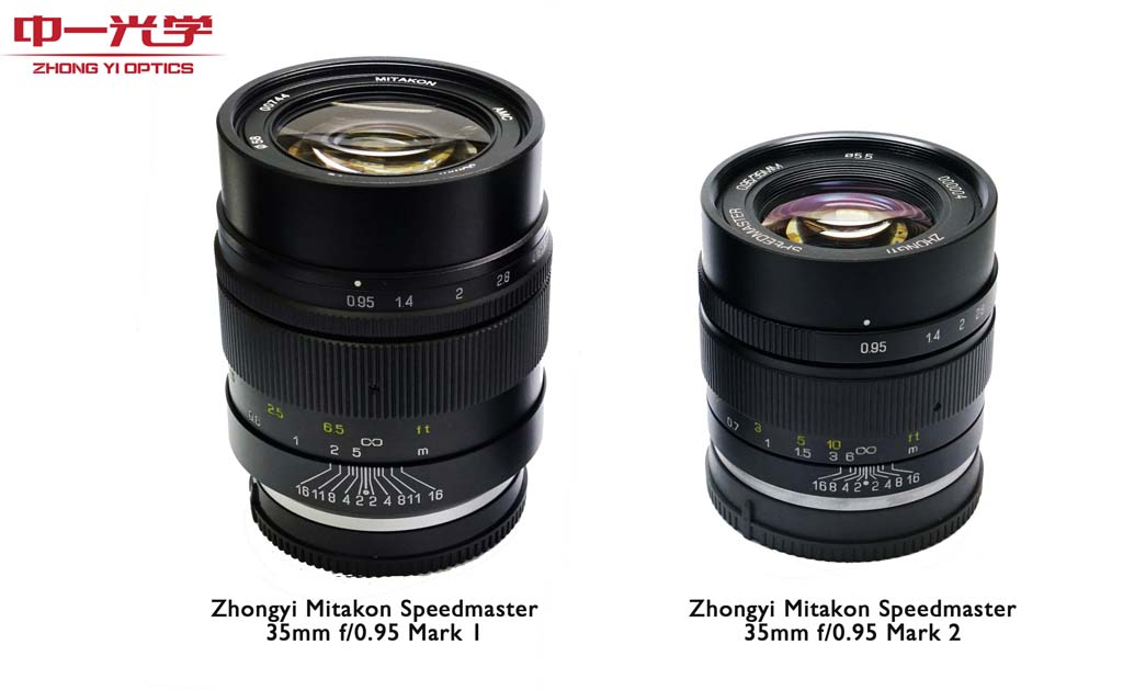 Mitkon Speedmaster 35mm f/0.95 Version II