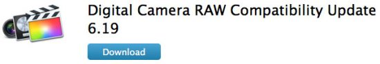 Apple CameraRaw 6.19