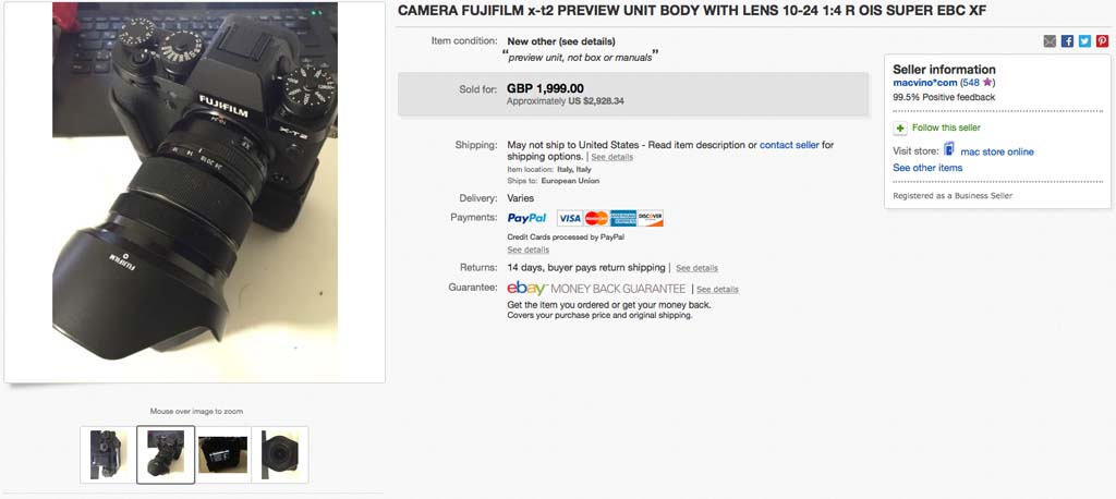 unannounced-Fuji-X-T2-camera-listed-for-sale-on-eBay