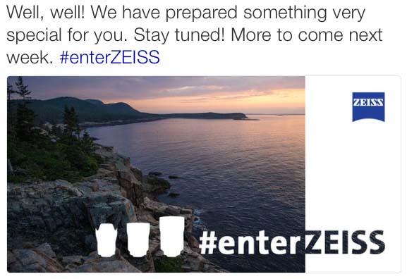 Zeiss Lens Tease