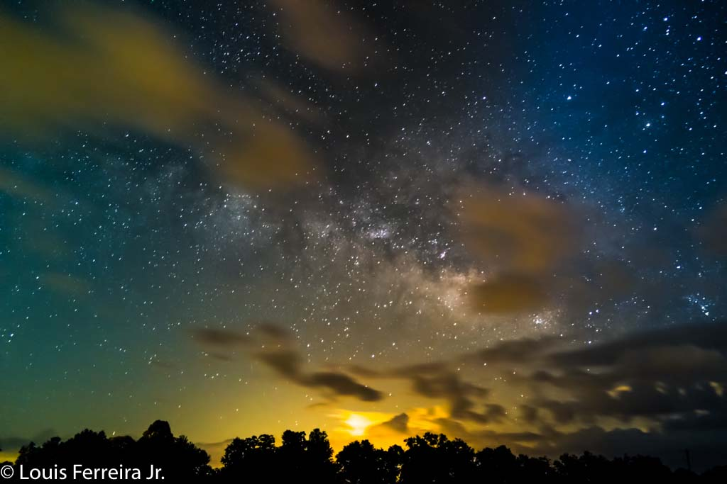 Night Sky clouds
