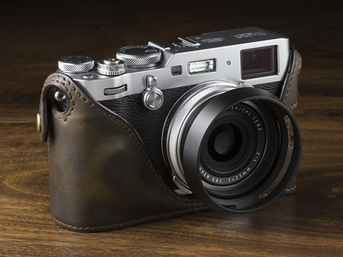 KAZA Fujifilm X100F, X-T2, X-Pro2 Leather Half Cases - Fuji