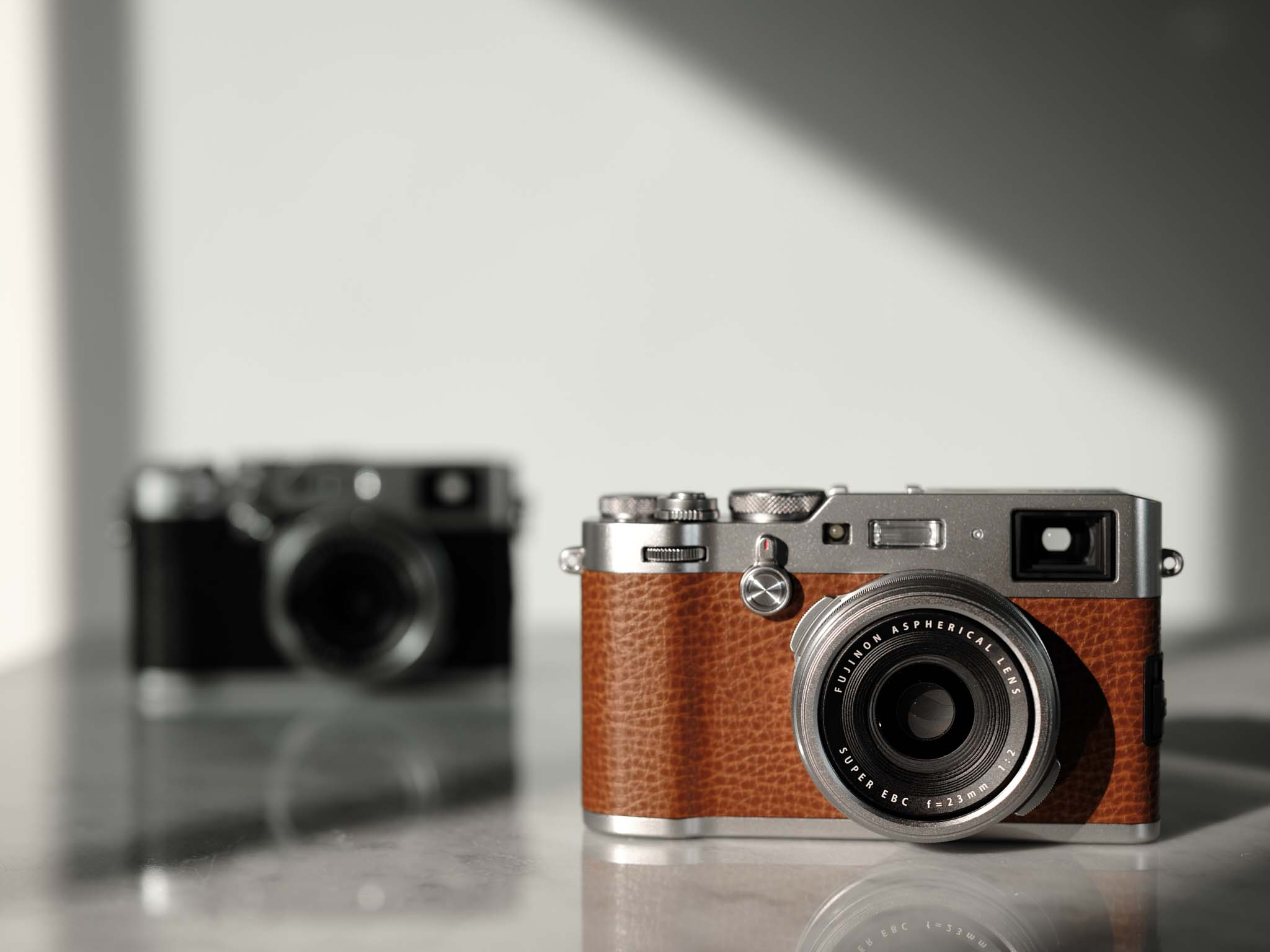 Well now, have you seen the upcoming X-100F in brown
