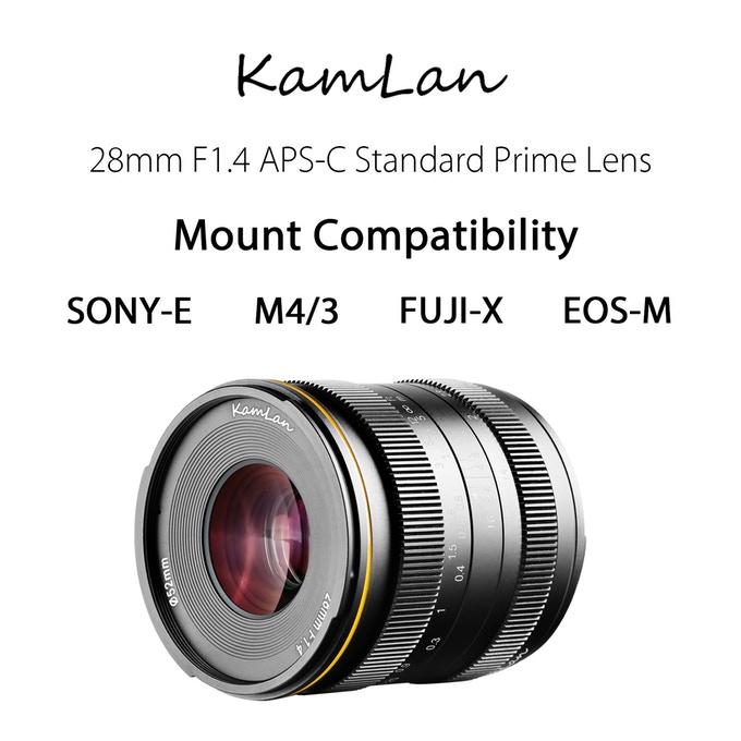 Kamlan 28mm f/1 4 Coming to Kickstarter and Future Roadmap