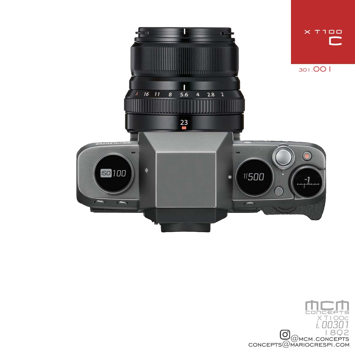 Fuji Addict Page 56 Of 301 Fujifilm X T100 Body Xf35mm F2 Gold Kamera Mirrorless Mario Crespi Left Some His Concept Photos In The Comments Section Our Last Post Again And While Digital Dials Are Very Nice Would You Spend A Few