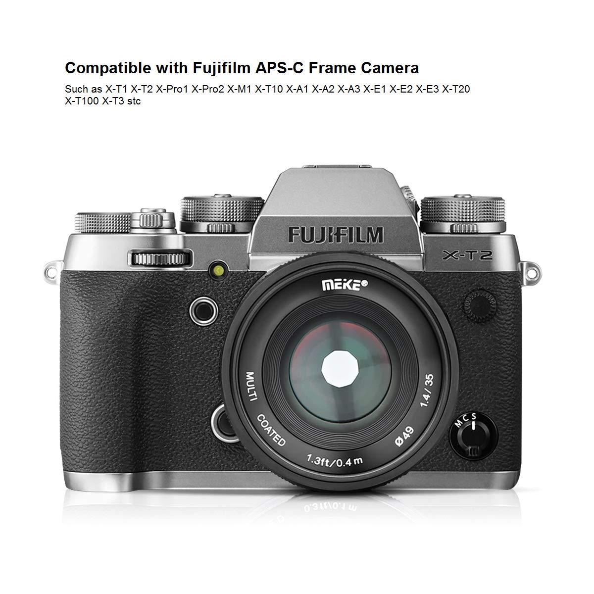 Meike 35mm f/1.4 Manual Focus APS-C Lens