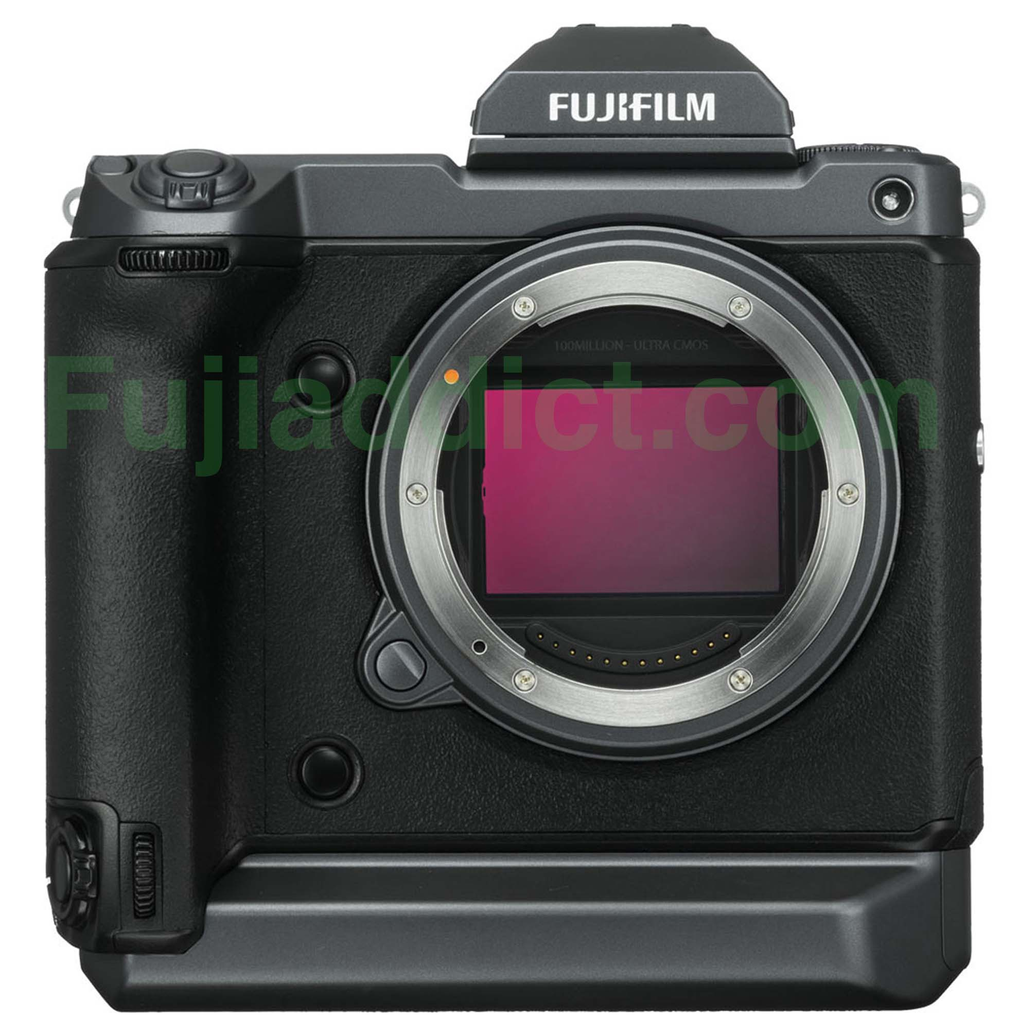 photo about Camera Printable named Fulfill The Fujifilm GFX100: Printable Fujifilm GFX100 and