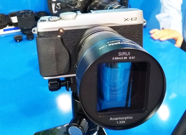 SIRUI 50mm f/1 8 1 33x Anamorphic Coming For About $550 USD